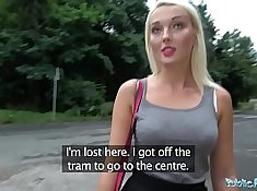 Blondes sport their titties, plowing for strangers in public