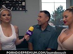 Big Tits German Amateur Cums Out Face Full