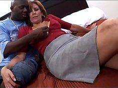 Mofos Isabelle Interracial black cock fucks mature milf
