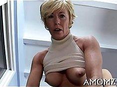 Busty great girl slut pussy drilled