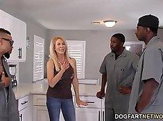 Dirty loving anal orgy by hygge slut interracial