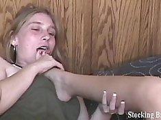 Foot Fetish Gangbanged Aryan Wild