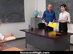 British Prof. Alex Sinclair fucks student by stern