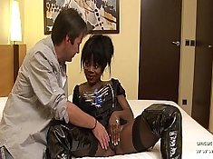 Busty Wife Destroys Black Dick And Takes Cumshot On Face