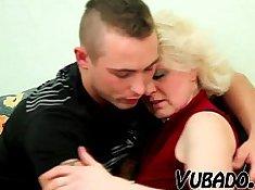 Blonde MILF Carl Sandoval Fucks Young Con HarryssisterSurprise teen porn