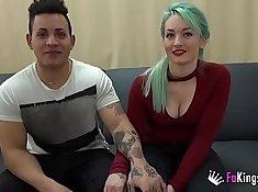 Sensual Codi gets her boyfriend boning her pussy POV