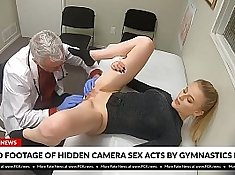 Blonde is banged really hard to satisfy the doctor