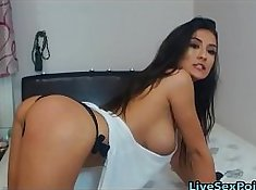 Breeany wants to get cum inside boobs and wet after