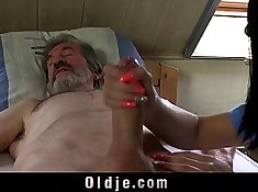 Banging Young Blonde Masturbates with Clamps